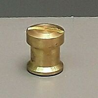 Stanley Plane Brass Nut Coarse Thread 20 TPI for Handle Knob Fits Millers Falls