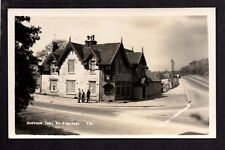 Roebuck Inn near Rugeley - real photographic postcard