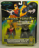 1995 Kenner BATMAN FOREVER Guardians of Gotham City 2 Figure Pack MOC w/Robin