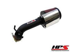 HPS Shortram Air Intake Kit 08-14 Mitsubishi Lancer 2.0L 2.4L Black Short Ram