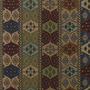 Warwick Anthropology / Kilim Style Fabric - 4 Colours. Upholstery / Curtains