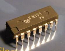 5x v4019d quad 2-input multiplexor CMOS = cd4019, FWE