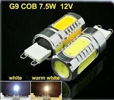 Lampada faretto G9 LED 12 Volt 4,5 Watt alta luminosità luce solare 5 led COB