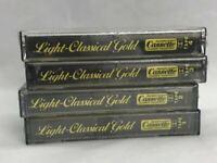 Light-Classical Gold Vintage 1982 4 Cassette Tape Set Lot Factory Sealed NEW