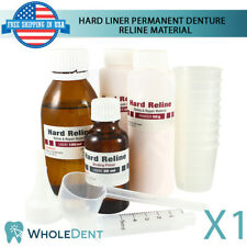 Self Curing Resin For Hard Liner Reline Home Use Kit Diy Denture Permanent Renew