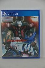 NEW PS4 DMC 4 Devil May Cry 4 Special Edition (Asian, English +Japanese)