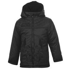 DISNEY blouson manteau noir doublé STAR WARS taille 4-5 ans chaud NEUF
