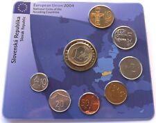 "Slovak Republic - Lot coins national- ""Accession of EU""-2004"