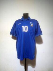 Italy soccer jersey Diadora Size L Roberto Baggio (not match)