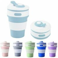 Collapsible Portable Eco-Friendly Reusable Leakproof Camping Coffee Folding Cup