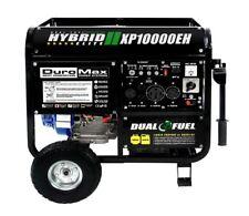 DuroMax 10000 Watt Hybrid Dual Fuel Emergency Portable Propane Gas Generator RV