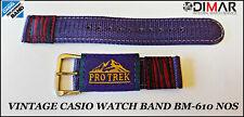 Vintage Casio Original Montre Band BM-610 NOS