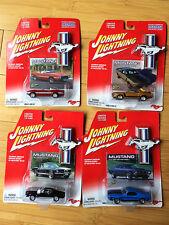 70 Mustang Boss, 69 Mustang, 73 Mach 1, 67 Shelby Ford Johnny Lightning Die Cast
