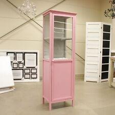 Vitrinenschrank rosa Impressionen H 160 x B 50 x T 35 cm