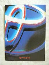 TOYOTA Modellprogramm - Corolla Celica Hilux - Prospekt Brochure 09.1995