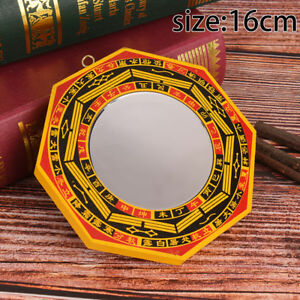 "6"" Inch Chinese Dent Convex Bagua Mirror Blessing House Protection Feng Shui ~AU"