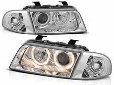 AUDI A4 B5 SEDAN WAGON 1994 1995 1996 1997 1998 LPAU09 HEADLIGHTS HALO RIMS