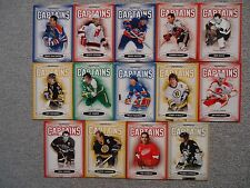 Lot of (14) 2006/07 Parkhurst Captains Insert Lot #/3999