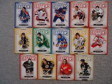 Lot of (14) 2006/07 Parkhurst Captains Insert Lot #/3999