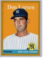 Don Larsen 2019 Topps Archives 5x7 Gold #64 /10 Yankees