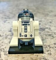 Genuine LEGO STAR WARS Minifigure - R2-D2 Flat Silver Dome - Complete - sw0527