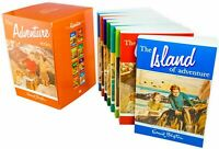 Enid Blyton Adventure Series 8 Books Children Collection Paperback Box Set