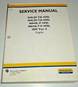 New Holland N4 N5 Series Engine Service Manual N4LDI-TA-45SL to N844LT-F-45SL  4