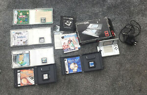 Nintendo DS Console NTR-001 with games charger box etc