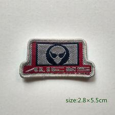 Aliens Saucer Man Alienware Extra-terrestrial Sew On Patch NASA
