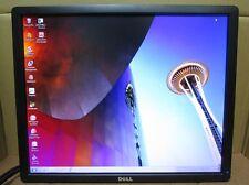 "Lot of 4 Dell P1913S 19"" LED LCD Monitor Display Port DP DVI VGA USB Hub"