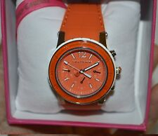 JUICY COUTURE Women's Orange Tonal Sunray Dials Casual Round Watch 1900898 $250