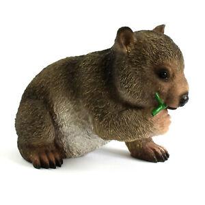 Wombat Home Garden Figurine Ornament Statue Sculpture Australia Animal Souvenir