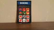 Boxing Intellivision INLAY ONLY