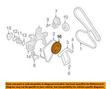 GM OEM Water Pump-Pulley 3535846
