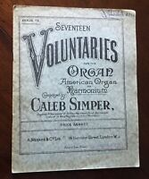 The Cloister Album of Voluntaries for the Harmonium or American Organ Book 6.