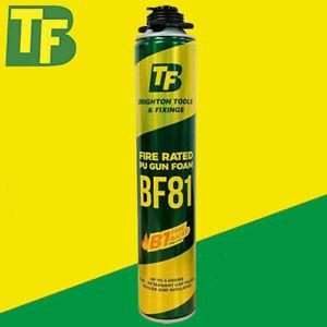3 Cans 750ml B1 Fire Rated Gun Grade Expanding Foam