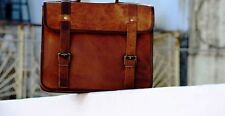 OneSide Pouch Brown Leather Motorcycle Side Pouch Saddlebags Saddle Bag Panniers