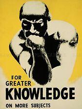 Anuncio de un mayor conocimiento sobre temas más uso de su biblioteca a menudo impresión lv900