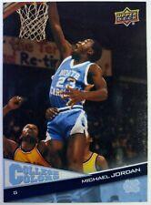 2010 10 Upper Deck College Colors Michael Jordan #1