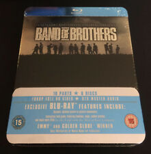 BAND OF BROTHERS [Blu-ray] Metal Tin Case Collectors Box Set HBO Complete Series