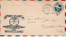 First flight cover, CAM 25E11, St. Petersburg, Florida, 1929