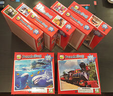 BRAND NEW Lot of 7 boxes Puzzlebug 100 Pieces Jigsaw Puzzle 6+ Kids 22x28cm Each