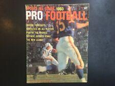 Pro Football Sports All Stars 1960 Johnny Unitas Jim Brown Pat Summerall