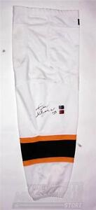 Zdeno Chara Boston Bruins Signed Autographed White Game Worn Sock