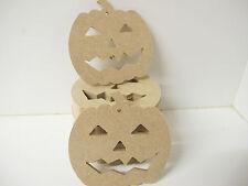 """Halloween Forma Zucca """"Set di 3"""" spessore 3 mm"""