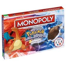 Monopoly Pokemon KANTO Region Edition Board Game 6 Metal Tokens