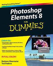 NEW Photoshop Elements 8 For Dummies by Barbara Obermeier