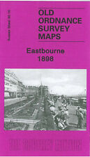 OLD ORDNANCE SURVEY MAP EASTBOURNE ROYAL PARADE BEDFORD WELL ROAD PIER 1898