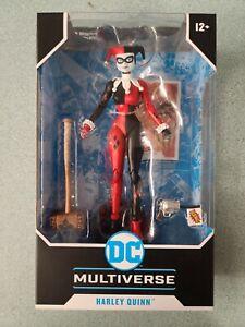 DC Multiverse 7'' HARLEY QUINN Classic Batman Animated Mcfarlane New