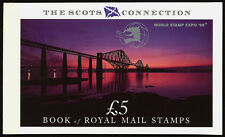Great Britain Scots Connection Prestige Booklet Overprinted World Stamp Expo 89